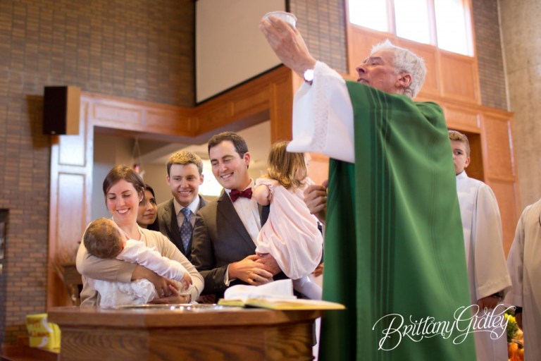 Baptism Photographer | Canton, Ohio | Baptism | Start With The Best | Brittany Gidley Photography LLC