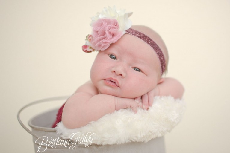 Newborn Baby Girl | Cleveland, OH | Brittany Gidley Photography LLC