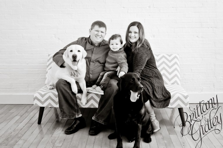 Studio Family Photography | Meet Mason| Toddler | Family | Inspiration | Brittany Gidley Photography LLC