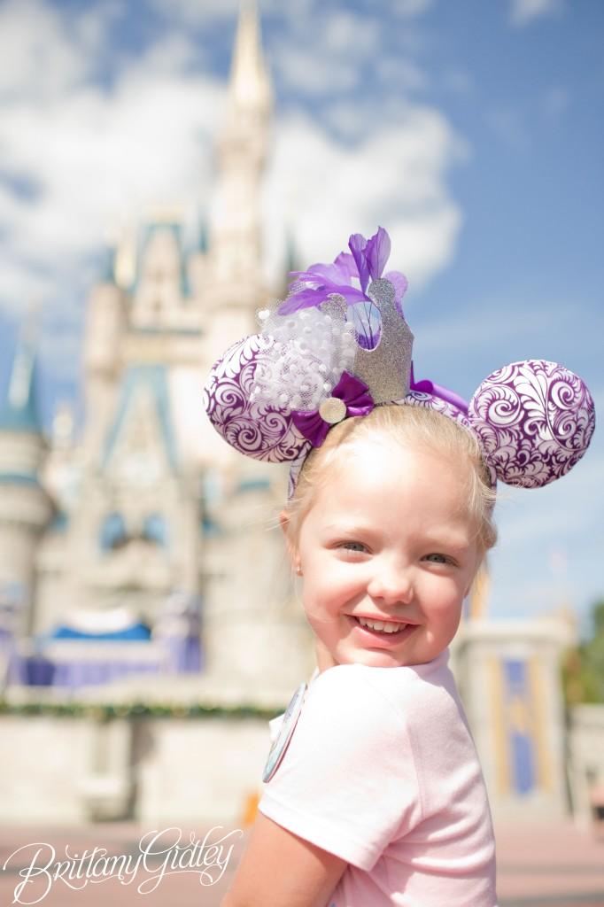 Disney World Photographer | Walt Disney World | Orlando, Florida | Happy Birthday | Princess Julia | Birthday Princess | Where Dreams Come True | Disney | On Location | Cinderella Castle