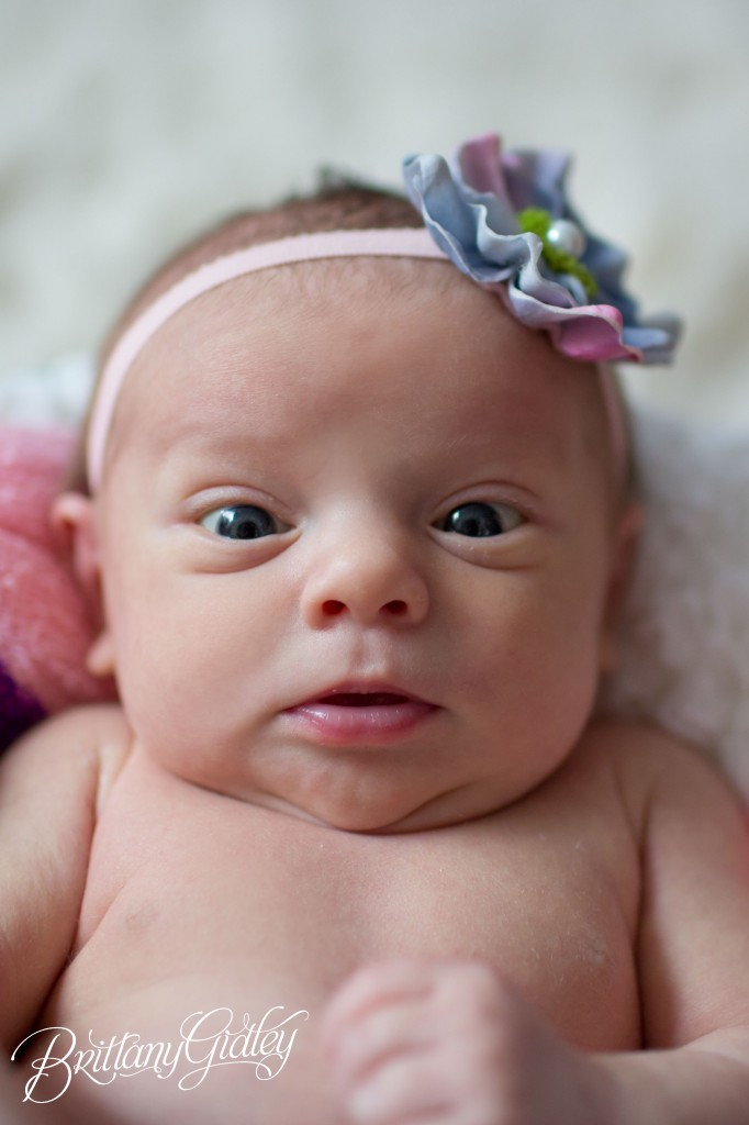 Newborn | It's A Girl | Cute | Adorable | Cleveland | Brittany Gidley Photography LLC