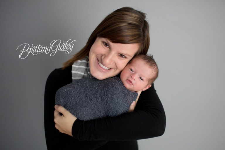 Baby and Mother | Newborn and Mom | Photography Cleveland Ohio | Start With The Best | Brittany Gidley Photography LLC