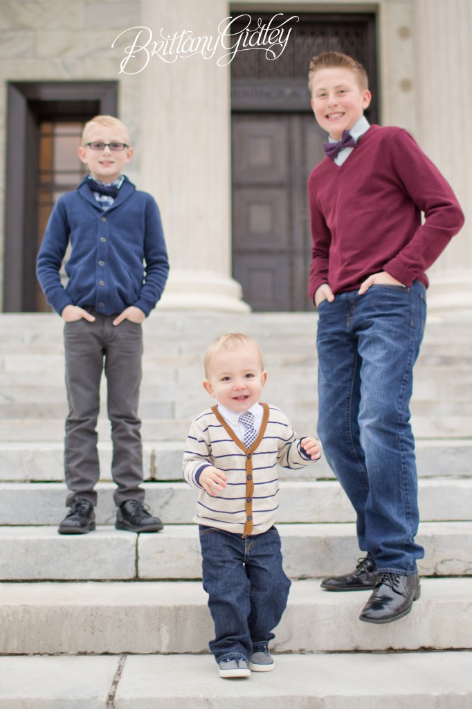Family | Brothers | Cleveland Museum of Art | Cleveland, OH | Brittany Gidley Photography LLC | Start With The Best