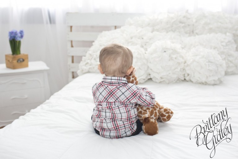12 Month Old | Rainbow Baby | Photography Inspiration | Brittany Gidley Photography LLC
