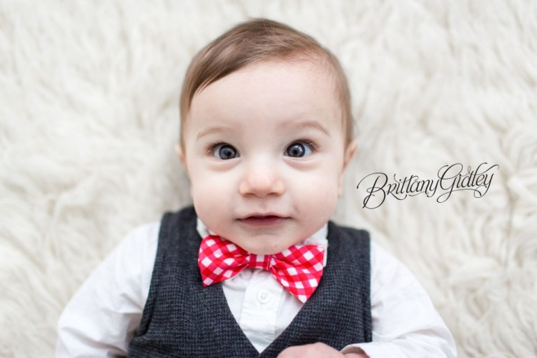 9 Month Baby | Simple | So Cute | Adorable | Start With The Best | Brittany Gidley Photography LLC