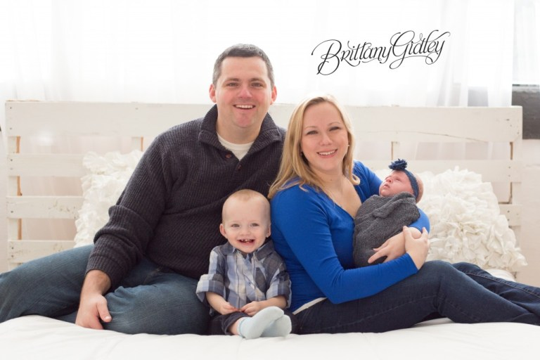 Family Newborn Photographer | Brittany Gidley | Start With The Best | Cleveland Ohio