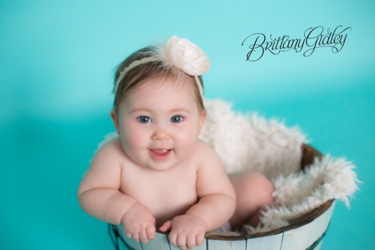 Family Baby Photography | 7 Months | Baby | Brittany Gidley Photography LLC