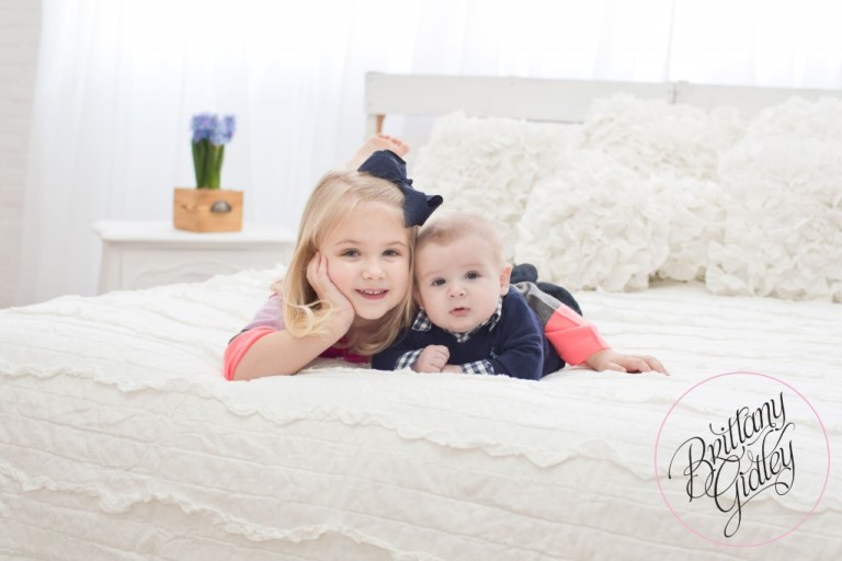 4 Month Old Baby | Siblings | Baby Photography | Baby Photographer | Inspiration | Brittany Gidley Photography LLC | Start With The Best