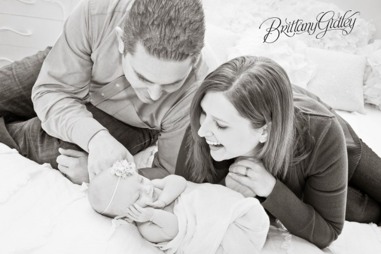 2 Month Old | Start With The Best | Brittany Gidley Photography LLC | Studio | Nautral Light | Ohio Photographer | Cleveland Photographer