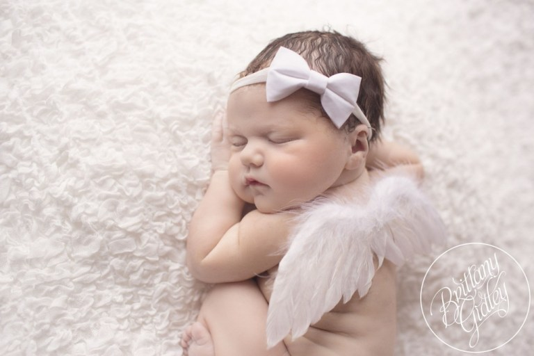Newborn | Birth Photography | Cleveland Photographer | Angel | Baby Girl