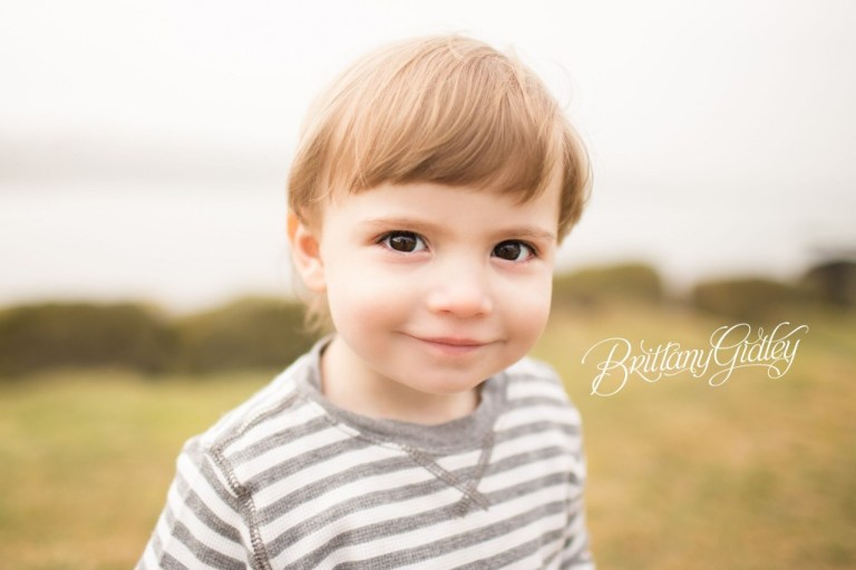 Toddler Photographer | Cleveland Photographer | Beach Session