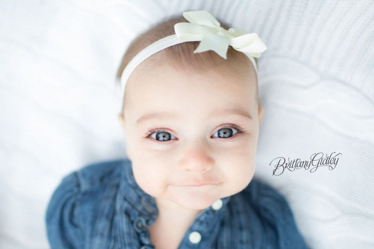 Best Baby Photography | Cleveland Baby Photographer | Dream Sessions } Start With The Best | Brittany Gidley Photography LLC | 6 Month Baby