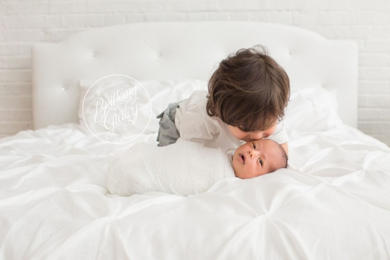 Newborn Photographer | Bed| Studio | Natural Light | Start With The Best | Brittany Gidley Photography LLC