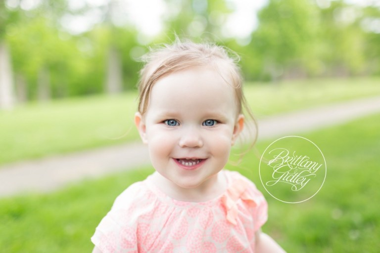 Toddler Portrait Photographer | Rocky River Beach Park | Brittany Gidley Photography LLC
