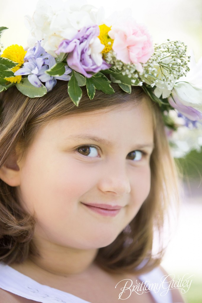 Floral Crown | Child Photography | Child Photographer | Cleveland Museum of Art | Wade Oval | Inspiration | Start With The Best | Brittany Gidley Photography LLC