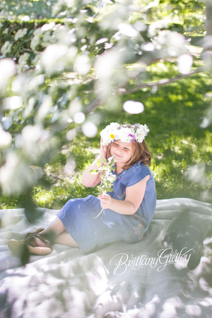 Floral Crown | Child Photography | Child Photographer | Cleveland Museum of Art | Wade Oval | Inspiration | Start With The Best | Brittany Gidley Photography LLC | Spring | Blossoms | Flowers