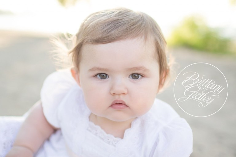 12 Month Baby Photo Shoot | Lashes | Cheeks | Baby Photography | Baby Photographer | Start With The Best | Brittany Gidley Photography LLC