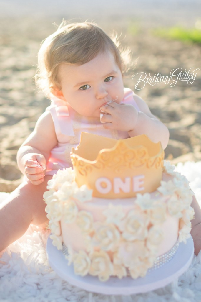 Cake Smash | Baby Photography | Baby Photographer | Start With The Best | Brittany Gidley Photography LLC