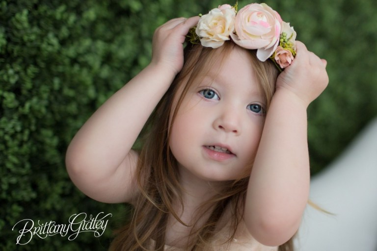 Best Photographer | Cleveland Ohio | Tutu du Monde | Tutu | Dress Up | Styled Shoot | Flower Wall | Brittany Gidley Photography LLC