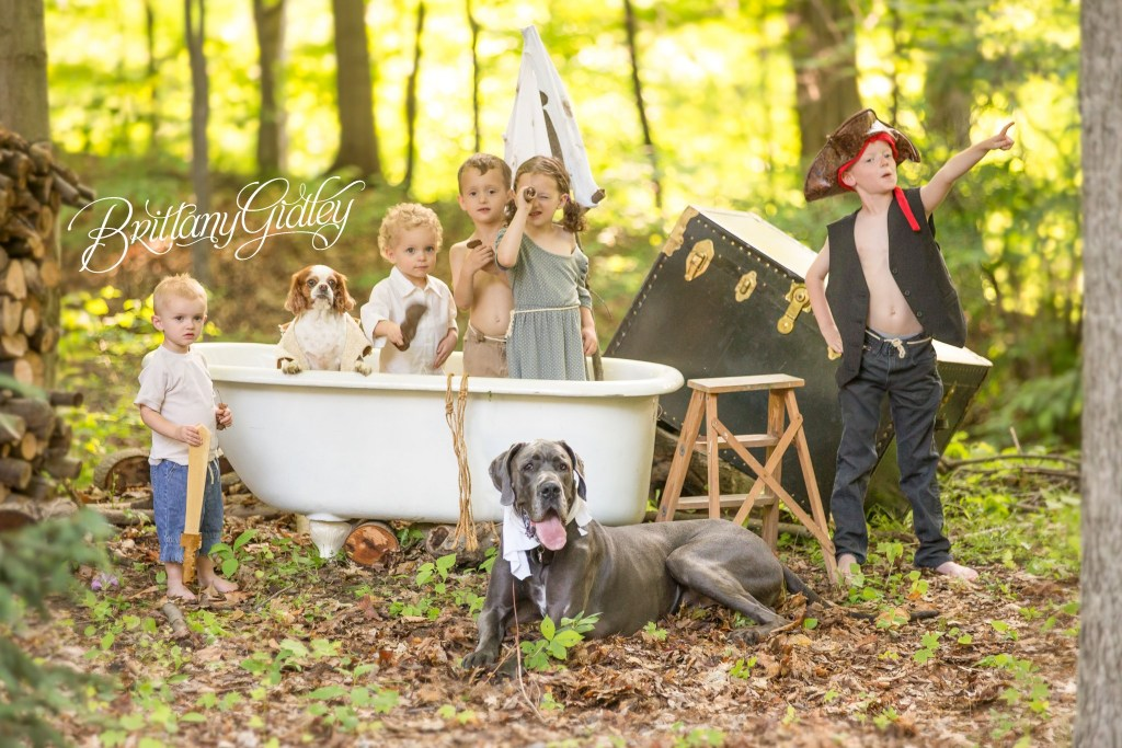 Pirates of the Clawfoot Tub | Dream Session | Cleveland Photographer