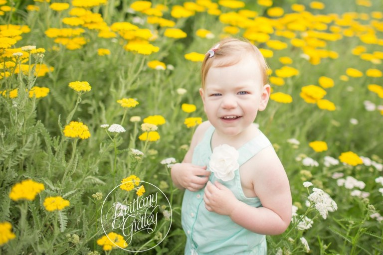 Dream Session | Secret Garden | Sisters | 9 Month Baby | 2 Year Old Toddler | Fantasy Photo Shoot | Cleveland | Flowers