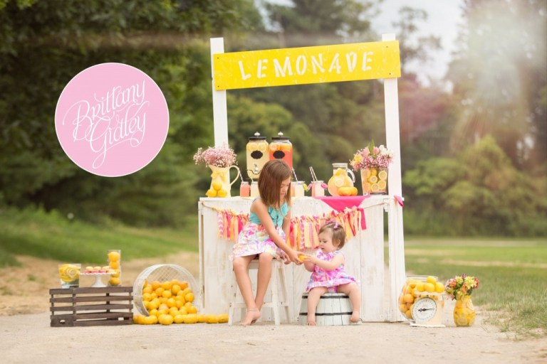 Lemonade Stand | Photo Shoot | Dream Sessions | Cleveland Ohio