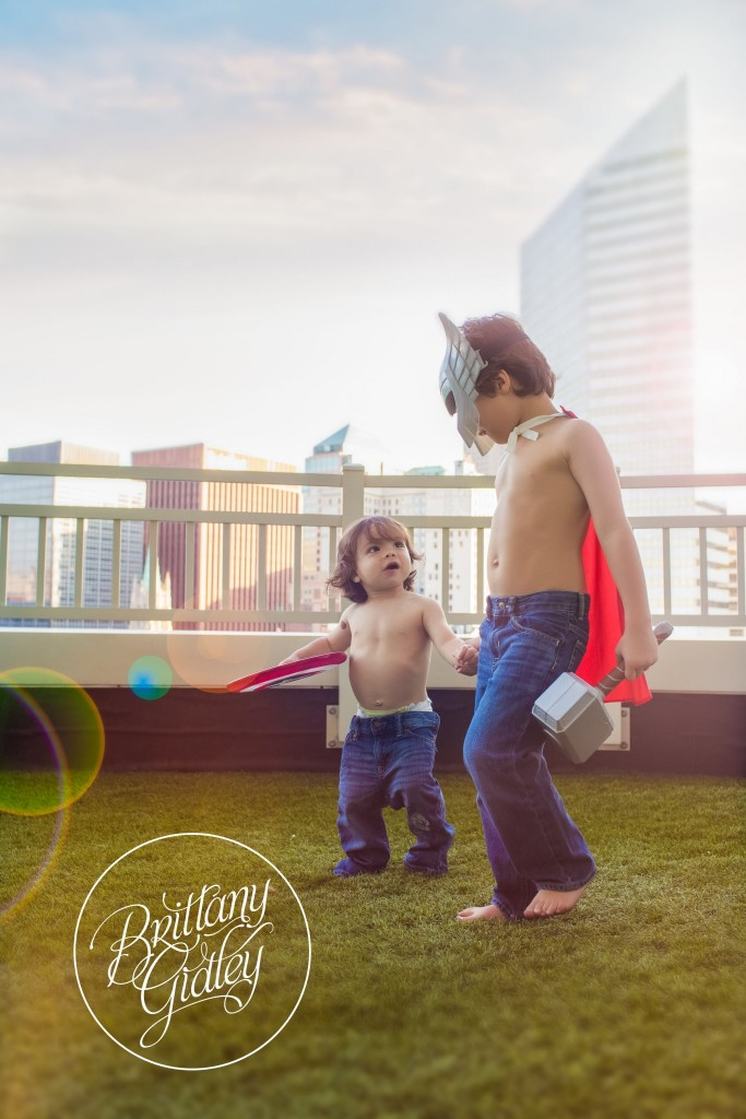 Superhero Dream Session | Downtown Cleveland | Brittany Gidley Photography LLC | Avengers Photo Shoot