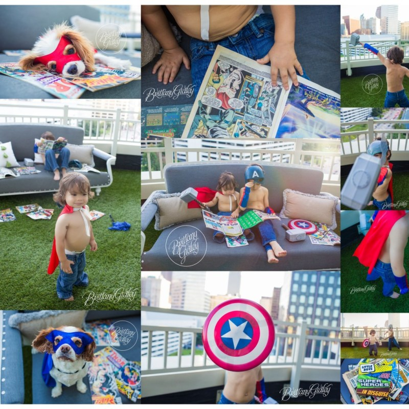 Photo Shoot  | Thor | Captain America | Superheroes | Brothers | Comic Books | Marvel |  Brothers | Downtown Cleveland | Brittany Gidley Photography LLC | Avengers Photo Shoot
