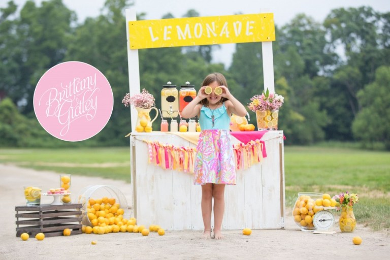 Lemonade | Photo Shoot | Photography Inspiration | Dream Sessions | Cleveland Ohio | Brittany Gidley Photography LLC