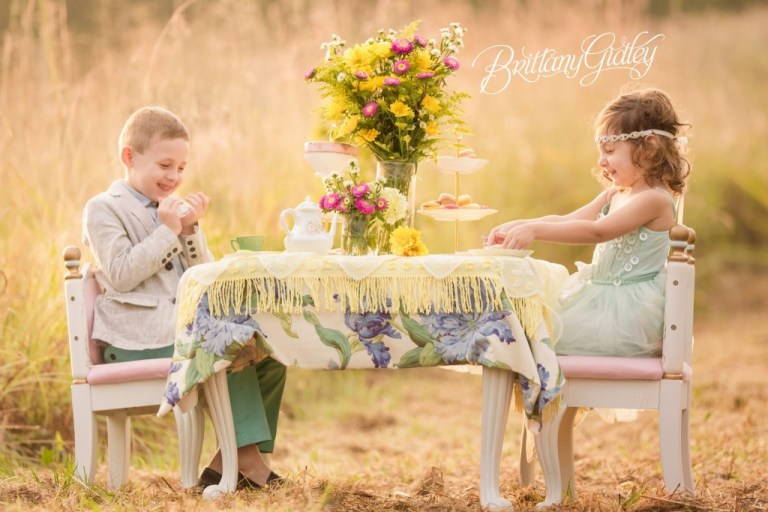 Whimsical Child Photography | Tea Party Photo Shoot | Cleveland, Ohio | Brittany Gidley Photography LLC