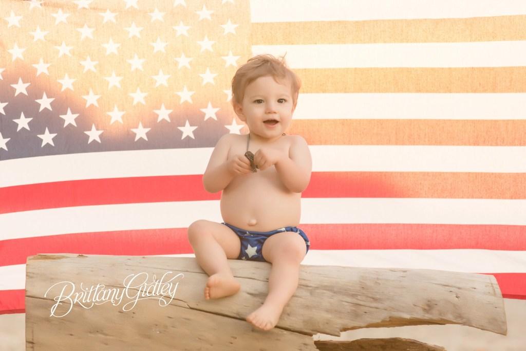 Charlie 18 Months | Beach Photo Shoot | Edgewater Beach Park