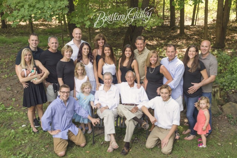 Extended Family Portrait | Family Photo | Large Family Photo