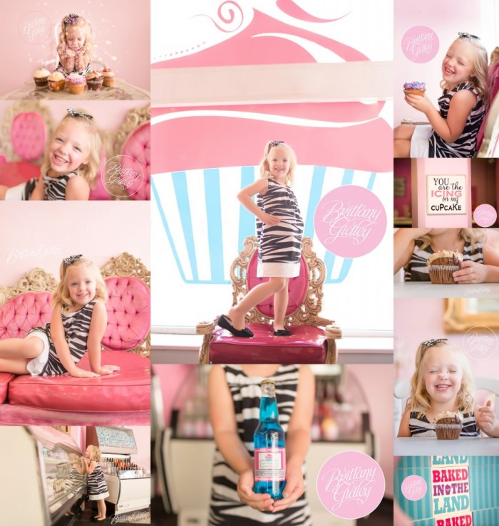 Colossal Cupcakes | Cleveland | 5 Year Old | Cupcake Photo Shoot