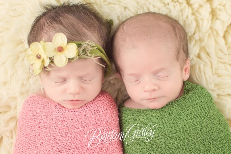Twin Newborn Photographer | Newborn Twins | Twins | Family Photography | Brittany Gidley Photography LLC | Cleveland, Ohio | Photo Shoot | Newborn Photographer
