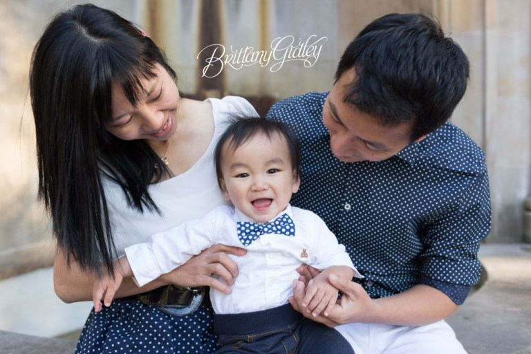 Family | Cleveland Cultural Gardens | Italian Garden | Baby Photographer | Baby Photography | Cake Smash