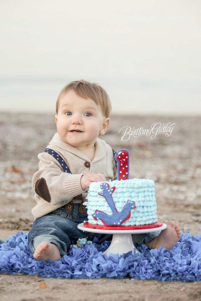 Nautical Cake Smash | Edgewater Beach