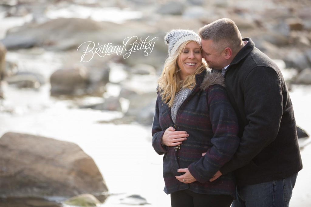 Cleveland Maternity Photographer | Waiting on Baby Adams | Everett Road Covered Bridge
