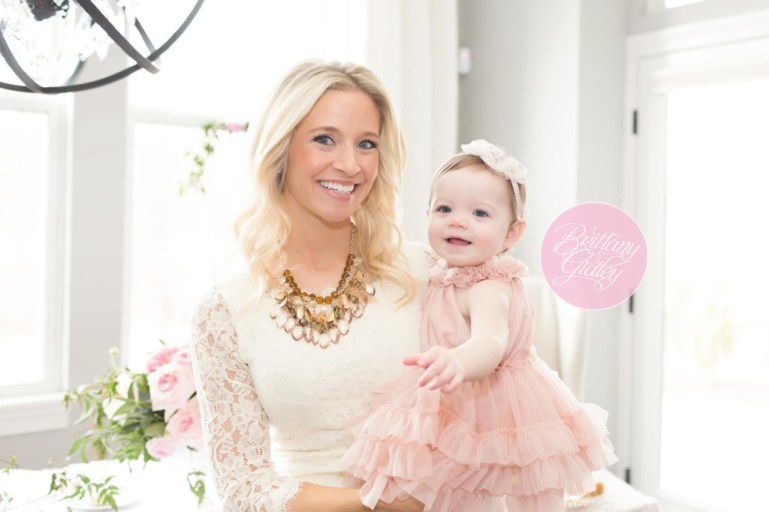 Mommy & Me Session | Ladies Who Brunch | Fresh Florals by A Charming Fete | Le Petit Tom Dress by Rainey's Closet | Inspiration | Start With The Best | Brittany Gidley Photography LLC