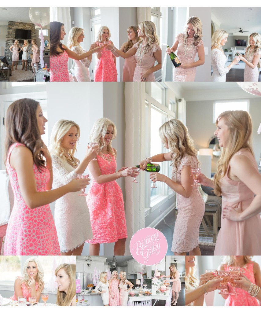 Mommy & Me Session | Ladies Who Brunch | One Stylish Party Styling | Dresses by Rent The Runway | Chandon | Inspiration | Start With The Best | Brittany Gidley Photography LLC
