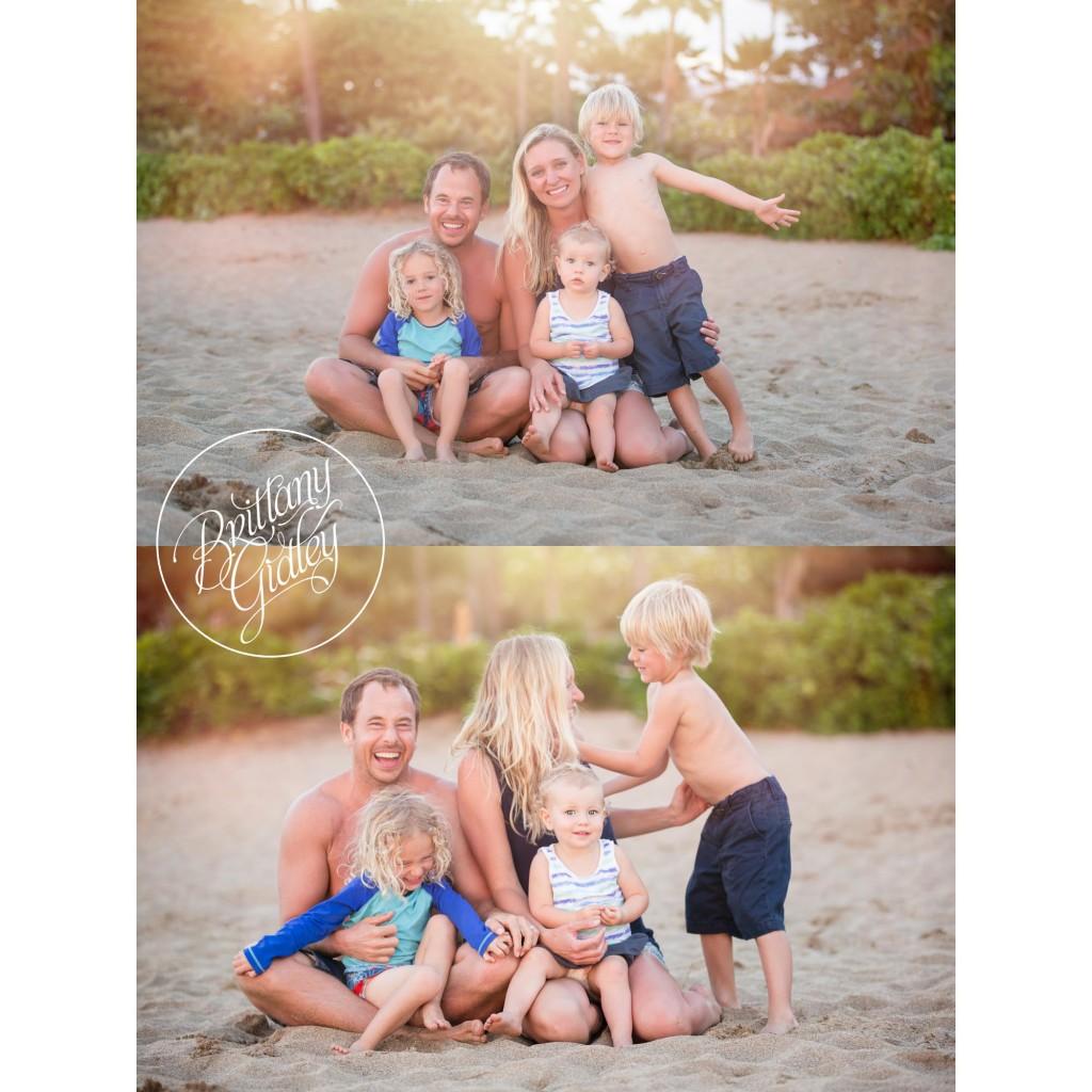 Maui | Maui Hawaii | Family Photographer | Sunset | Beach | Kaanapali Beach