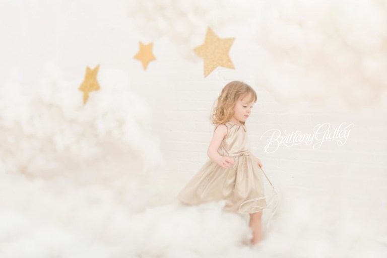 Cloud Dream Session | Stars & Clouds Photo Shoot | Brittany Gidley Photography LLC
