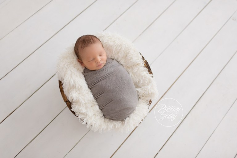 Newborn Baby Boy | Newborn Portraits | Best Newborn Photographer | Brittany Gidley Photography LLC