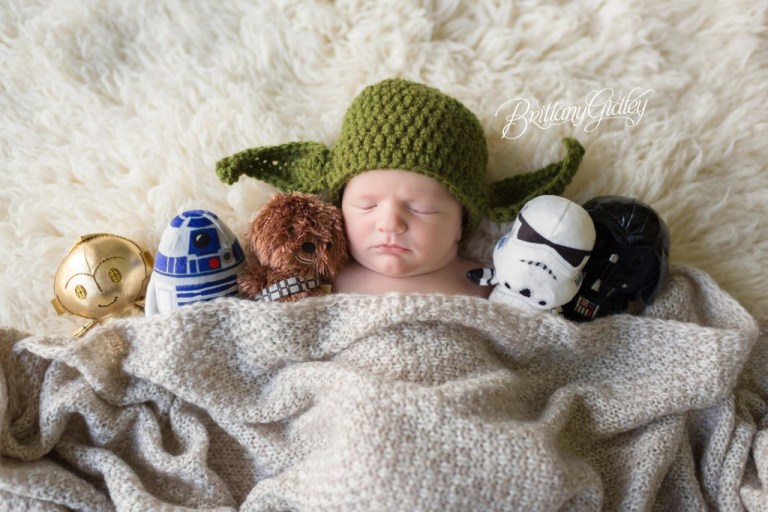 Star Wars | Star Wars Newborn Photography | Brittany Gidley Photography LLC