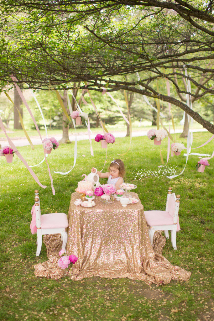 Tea Party Dream Session | Whimsical Child Photography | Dreamy Child Photographer | Cleveland Museum of Art