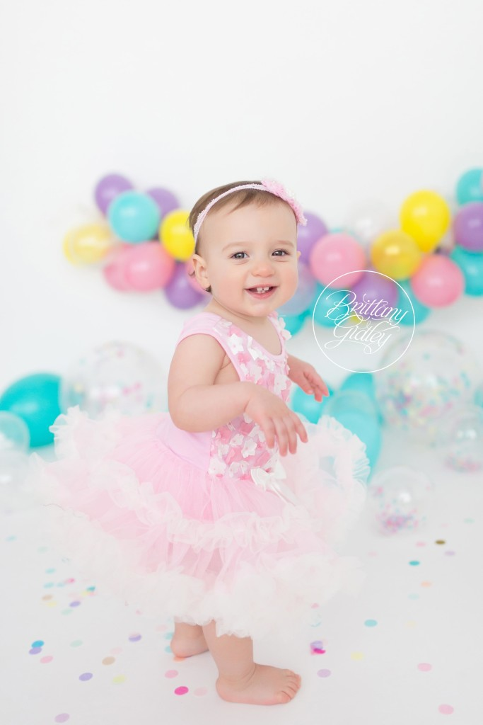 Cleveland Cake Smash Baby Photographer | 12 Month Baby | Baby Photographer | Start With The Best | Brittany Gidley Photography LLC