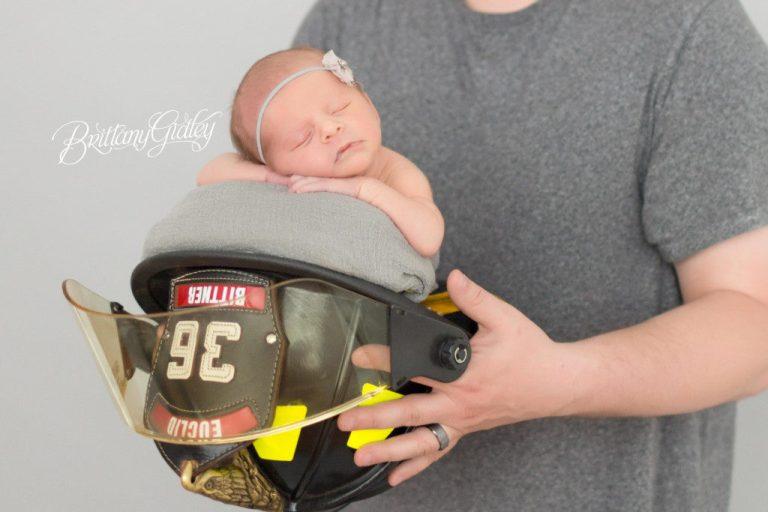 Firefighter Newborn | Newborn Photography Ideas | Fireman Newborn | Newborn Fire Hat