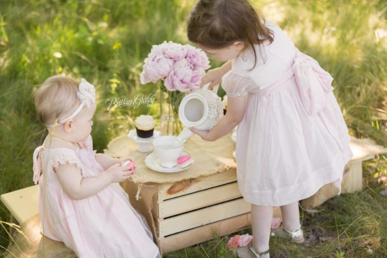 Cleveland Family Photography | Baby | Tea Party
