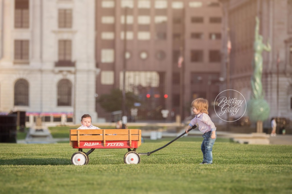 Downtown Cleveland Family Session | The Wilke Family