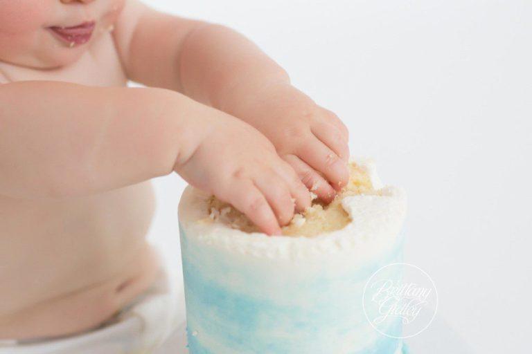 Cake Smash Photographer | Henry 12 Months | Cleveland Cake Smash | Cleveland Photographer