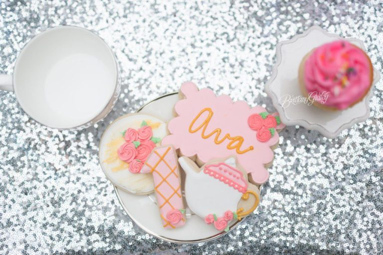 Cleveland Cultural Gardens | Custom Cookies | Tea Party